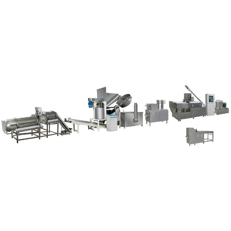 Puffed fried food production line